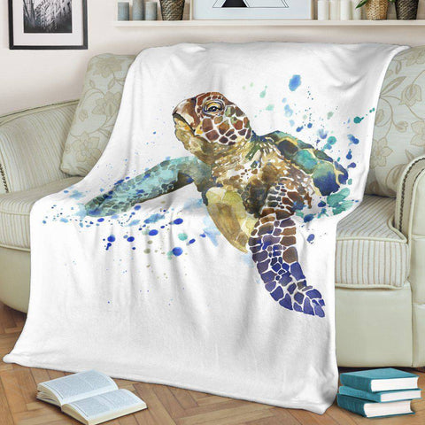 Image of Premium Turtle Blanket V.1 -- EXPRESS