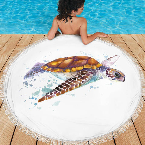 Image of Beach Blanket Turtle V.2
