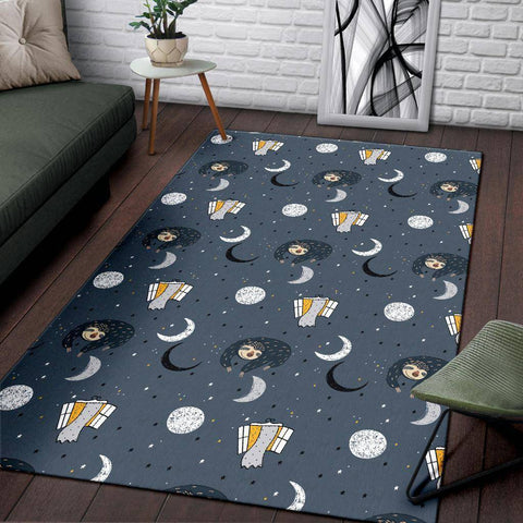 Space Sloth Area Rug Rug