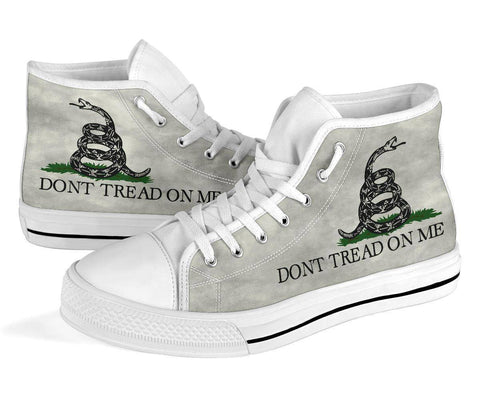 Image of Dont Tread On Me Canvas Shoes V.2 Shoes