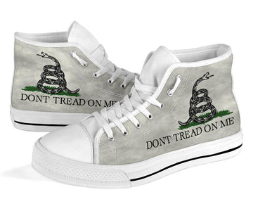 Dont Tread On Me Canvas Shoes V.2 Shoes