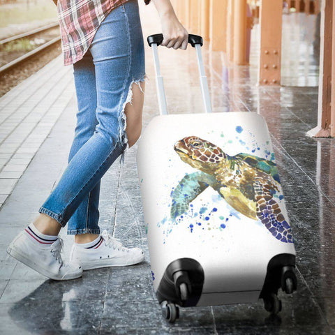 Epic Turtle Luggage Cover V1