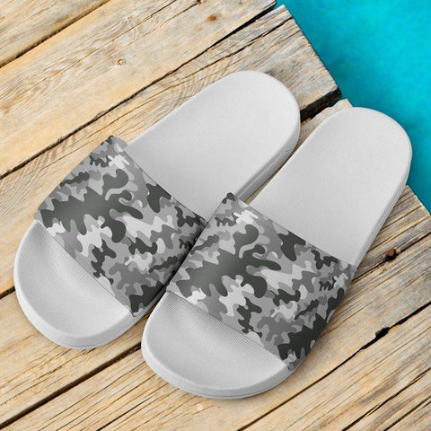 Image of Snow Camo Slide Sandals V.1 Slides