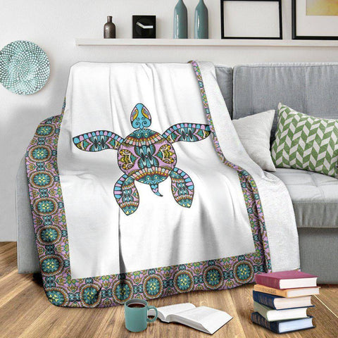 Premium Tribal Turtle Blanket V.1