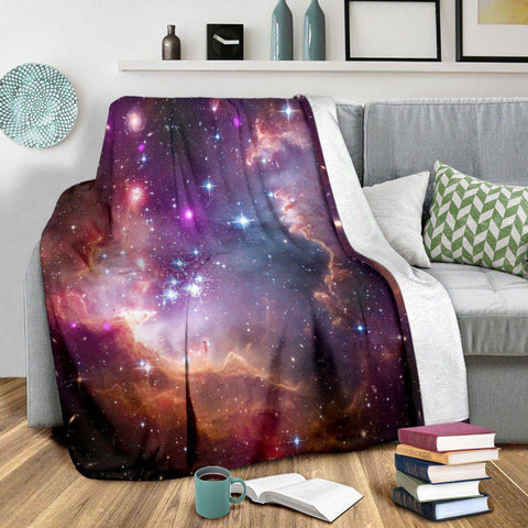 Image of Stunning Galaxy Blanket V4