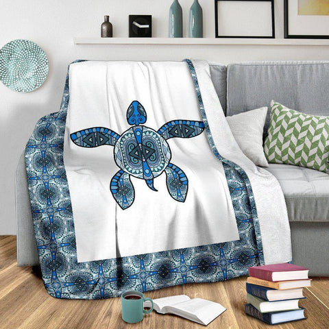 Image of Premium Tribal Turtle Blanket V.2