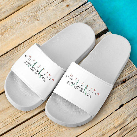 Image of Focal Length Slide Sandals Slides