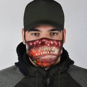 Fireworks Face Mask V1