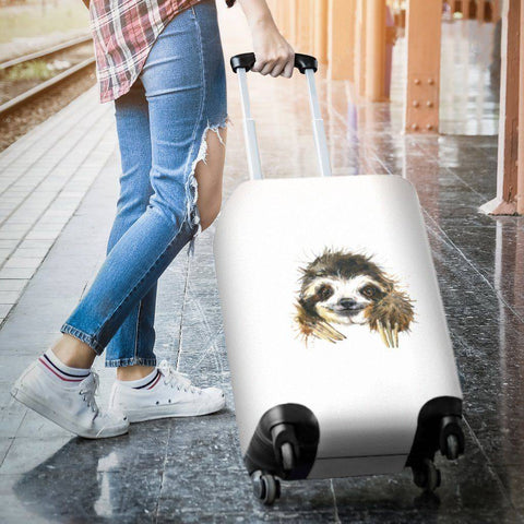 Cute Sloth Luggage Covers