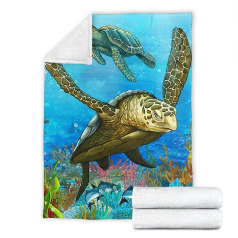 Image of Premium Turtle Blanket V.4