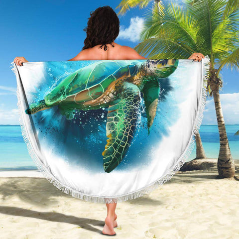 Image of Turtle Beach Blanket v.3