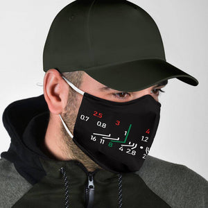 Focal Length Face Mask Black