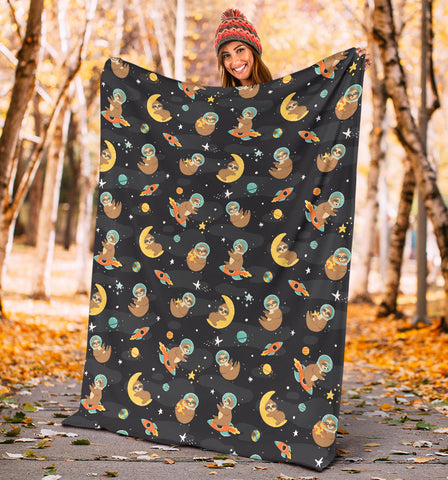 Sleeping Sloth Blanket V.1