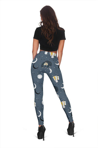 Image of Sleeping Space Sloth Leggings