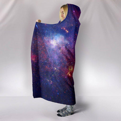 Amazing Galaxy Hoodie Blanket Hooded Blanket