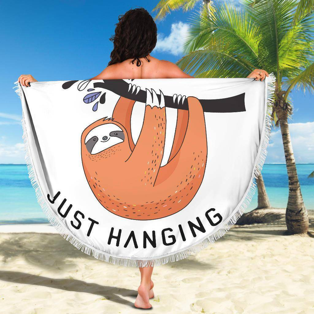 Fun 'Just Hanging' Beach Blanket