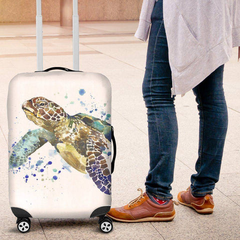 Image of Epic Turtle Luggage Cover V1