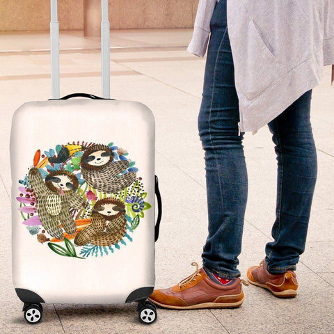 Sloth Trio Luggage Cover