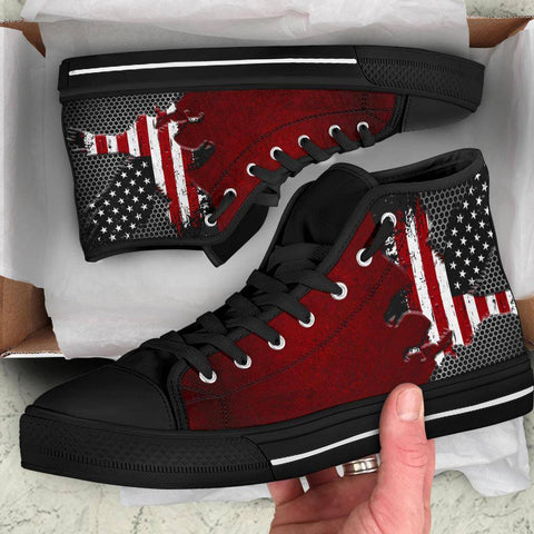 American Eagle Of Freedom High Tops Shoes