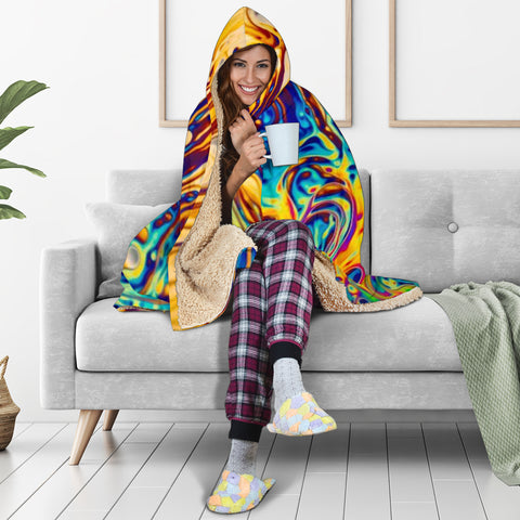 Fractal Hooded Blanket V.5