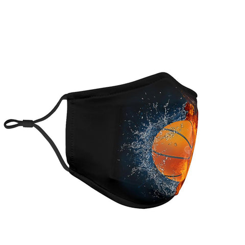Basketball Lovers Facemask Face Mask