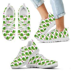 Image of Kid's Turtles Hearts Shoes