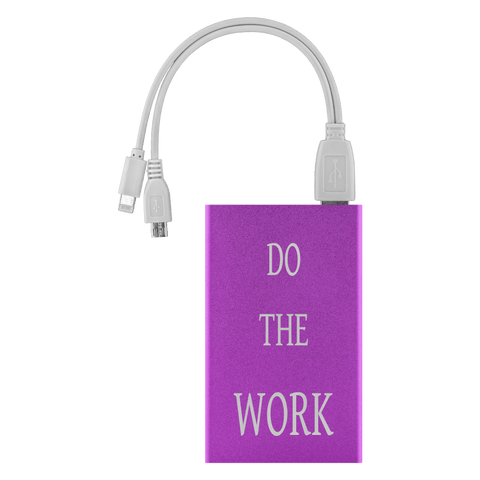 Image of Do The Work Power Bank Power Banks Purple