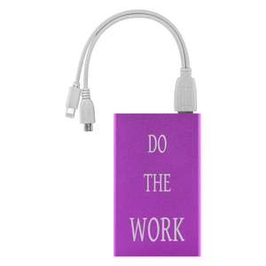 Do The Work Power Bank Power Banks Purple