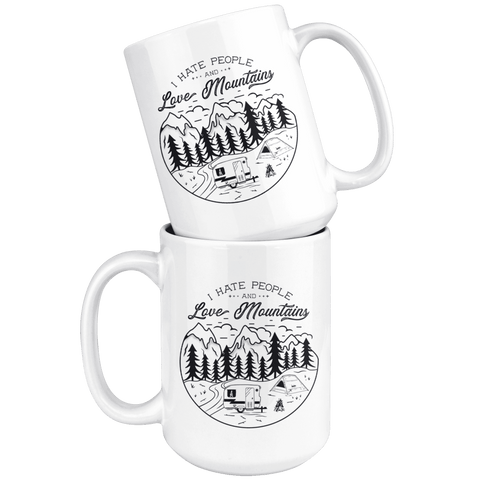 Image of Love The Mountains | 15oz. Mug Drinkware