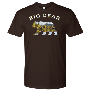 Big Bear V.1 Men's Shirts T-shirt Next Level Mens Shirt Dark Chocolate S