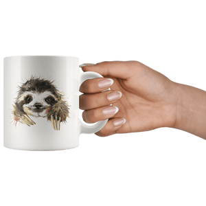 Happy Sloth Mug Drinkware