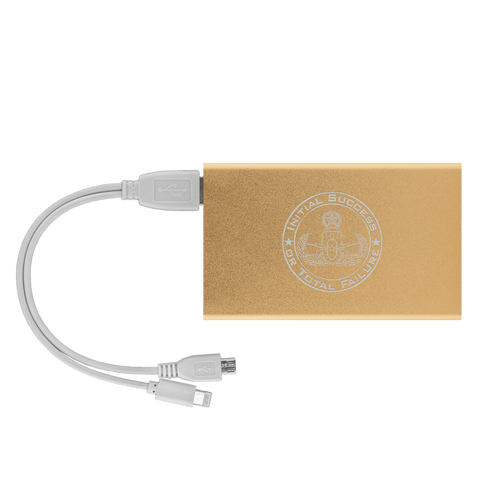 Initial Success to Total Failure EOD Power Bank V 2 Power Banks Gold