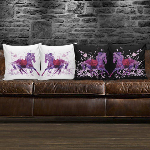 Wild Horse Pillow Covers