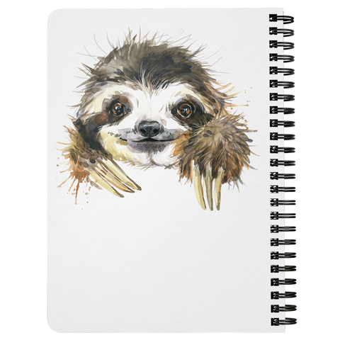 Happy Sloth Journal | Spiral