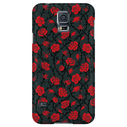 Image of Gorgeous Red Roses Phone Case Phone Cases Galaxy S5