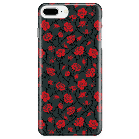 Image of Gorgeous Red Roses Phone Case Phone Cases iPhone 7 Plus/7s Plus/8 Plus