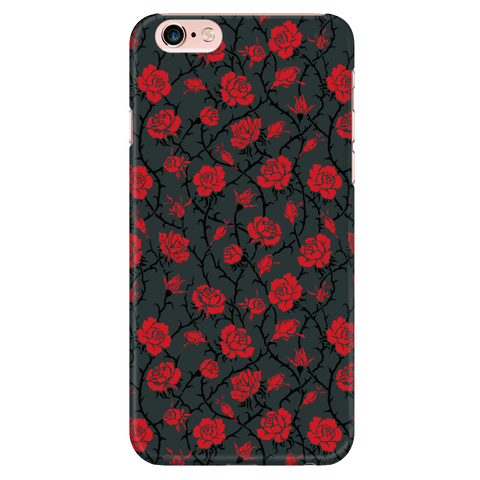 Gorgeous Red Roses Phone Case