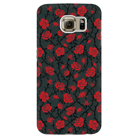 Image of Gorgeous Red Roses Phone Case Phone Cases Galaxy S6