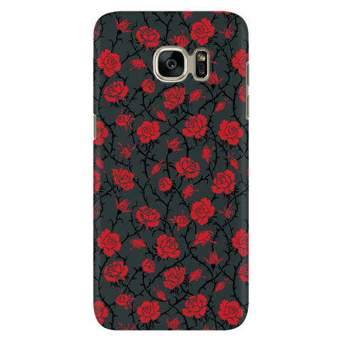 Image of Gorgeous Red Roses Phone Case Phone Cases Galaxy S7