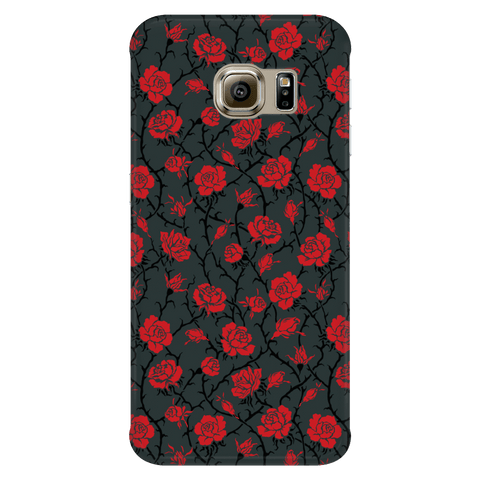 Image of Gorgeous Red Roses Phone Case Phone Cases Galaxy S6 Edge