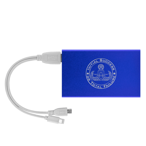 Initial Success to Total Failure EOD Power Bank V 2 Power Banks Royal Blue