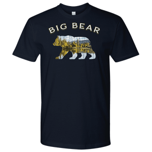 Big Bear V.1 Men's Shirts T-shirt Next Level Mens Shirt Navy S