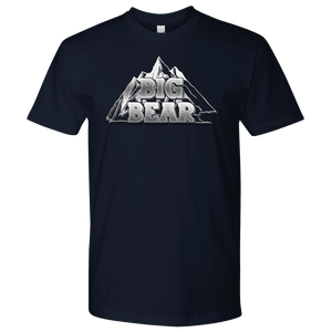 Big Bear V.2, Mens T-shirt Next Level Mens Shirt Navy S