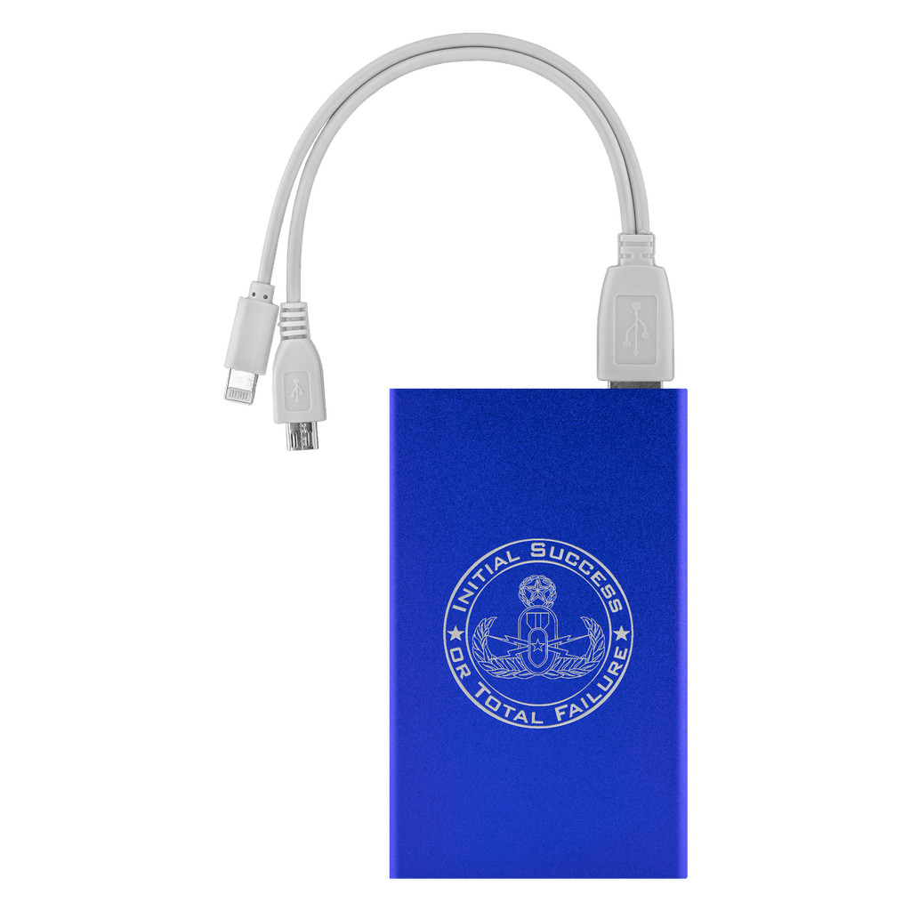 Initial Success or Total Failure EOD Power Bank Power Banks Royal Blue