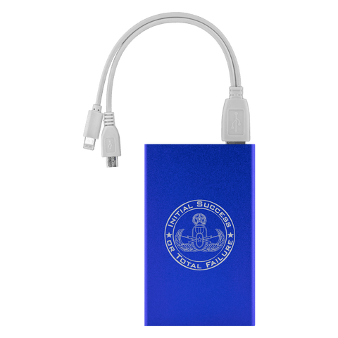 Image of Initial Success or Total Failure EOD Power Bank Power Banks Royal Blue