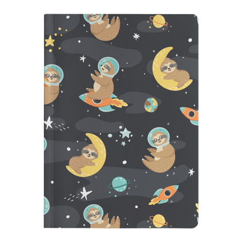 Space Sloth Journal | Soft Cover