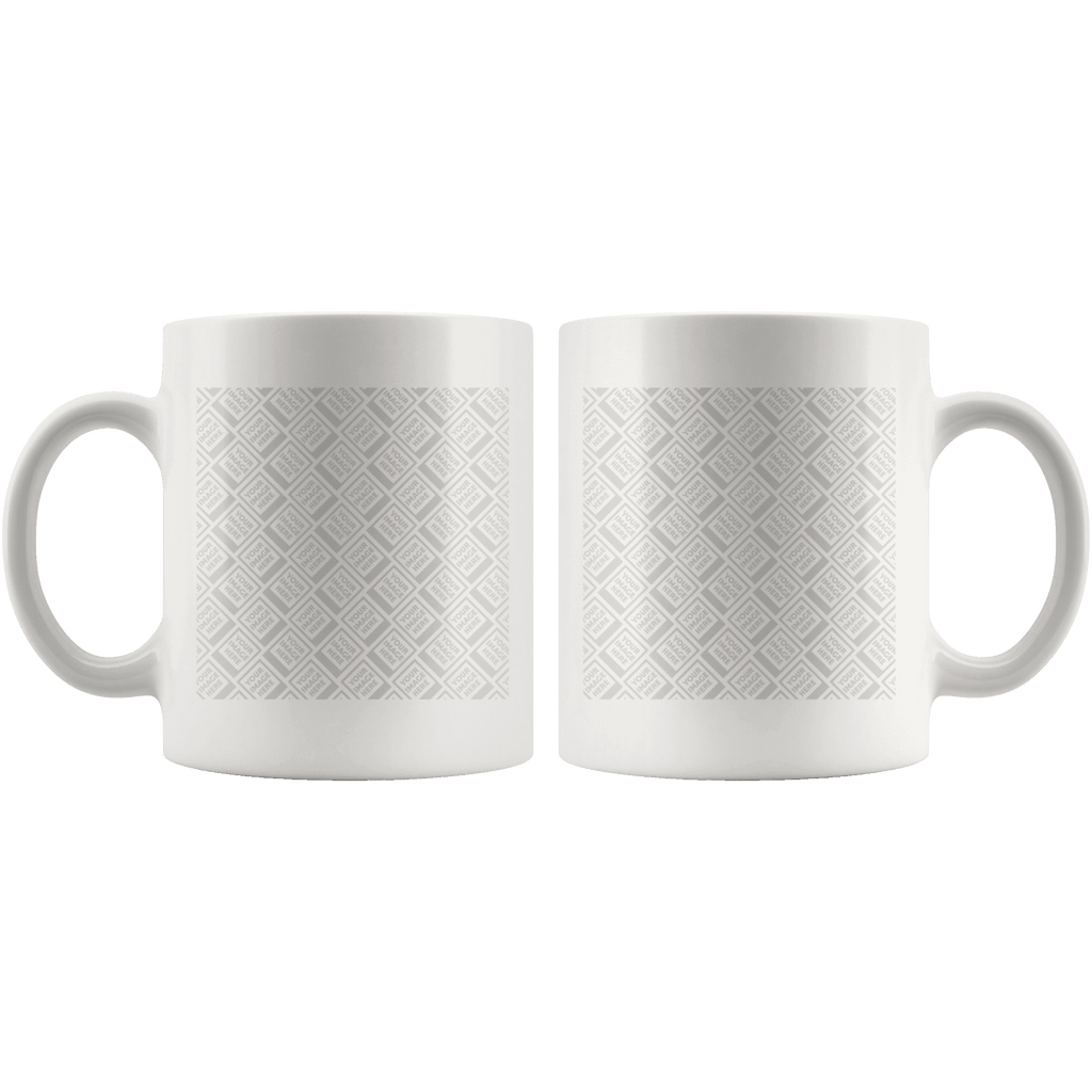 Build Your Own Coffee Mug, Perfect for YOUR Custom Image Drinkware Template