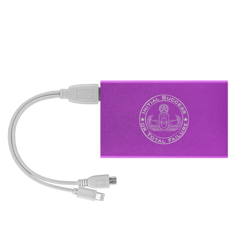 Initial Success to Total Failure EOD Power Bank V 2 Power Banks Purple