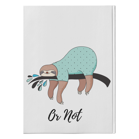 Image of Sloth Writing Team | Hardcover Journal