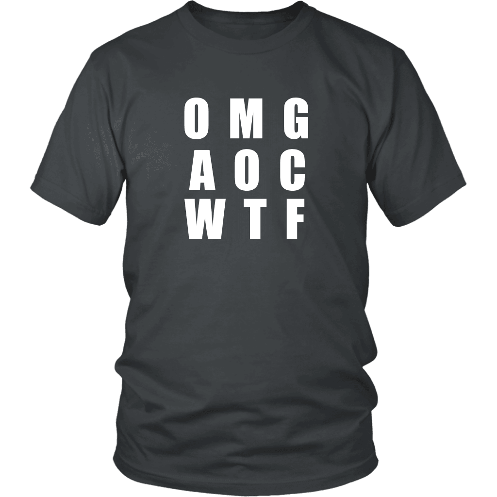 Well There you have it... T-shirt District Unisex Shirt Charcoal S
